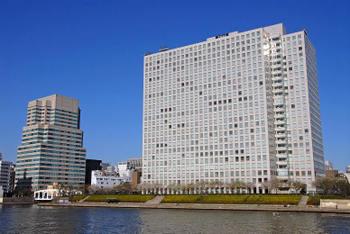 中央区 箱崎周辺の空撮!: 東京...