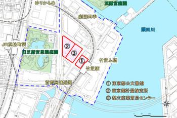 東京都港区海岸1丁目14 - Yahoo!地図