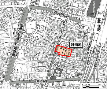 Tokyokitasenju15123