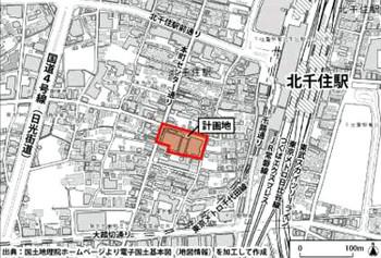 Tokyokitasenju170512