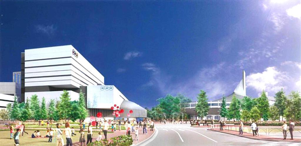 NHK放送センターの建て替え 放送センター建替工事(第Ⅰ期) 第一弾 ...