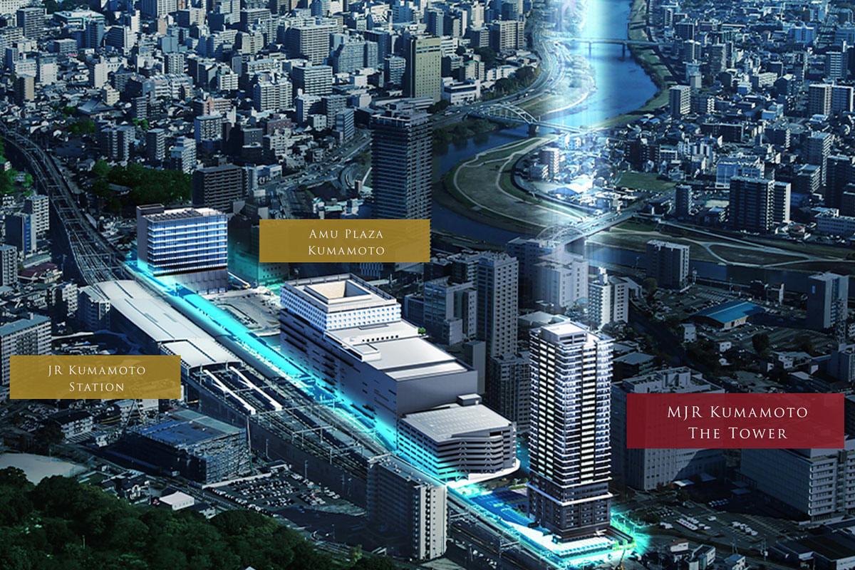 駅 開発 熊本 再