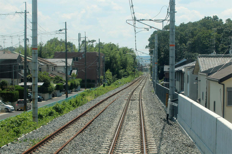 JR奈良線の高速化・複線化の第二期事業 2019/08/26 Part8・「新 ...