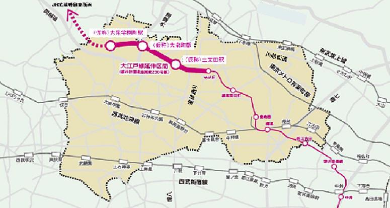 都市間高速鉄道計画